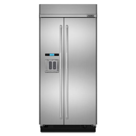 "Jenn-Air 42"" Built-In Side-by-Side Refrigerator with Water Dispenser"