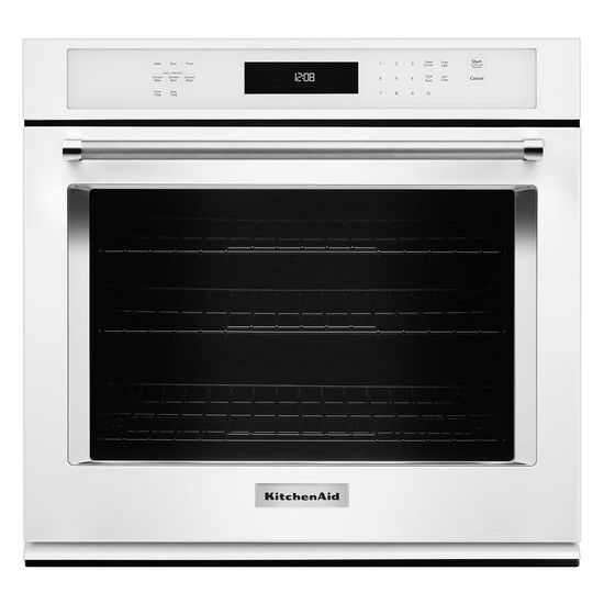 "Model: KOSE507EWH | KitchenAid 27"" Single Wall Oven with Even-Heat™ True Convection"