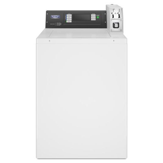 Commercial Top-Load Washer, Coin-Ready