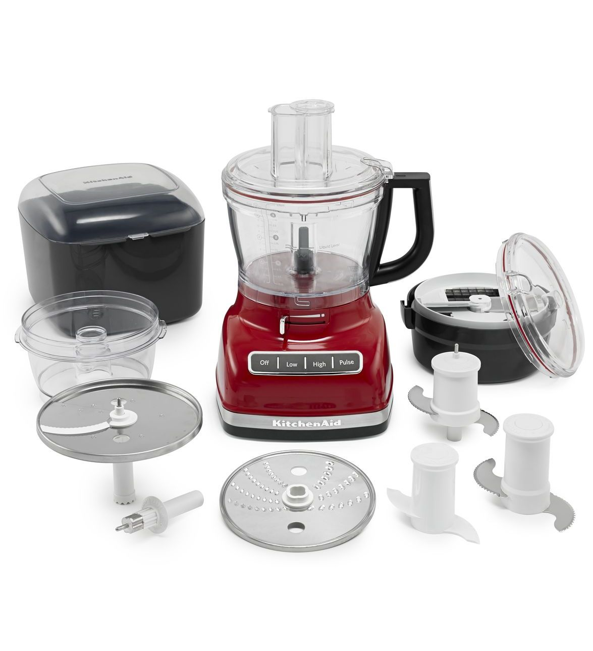 KitchenAid-14-Cup-Food-Processor-with-Commercial-Style-Dicing-Kit-KFP1466 thumbnail 4