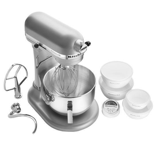 KitchenAid-Professional-HD-Series-5-Quart-Bowl-Lift-Stand-Mixer-KG25H0X thumbnail 24