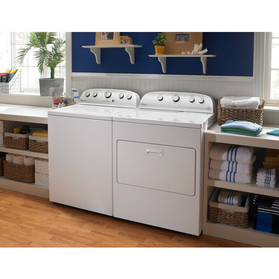 Model: WTW5000DW | Whirlpool 4.3 cu.ft Top Load Washer with Quick Wash, 12 cycles