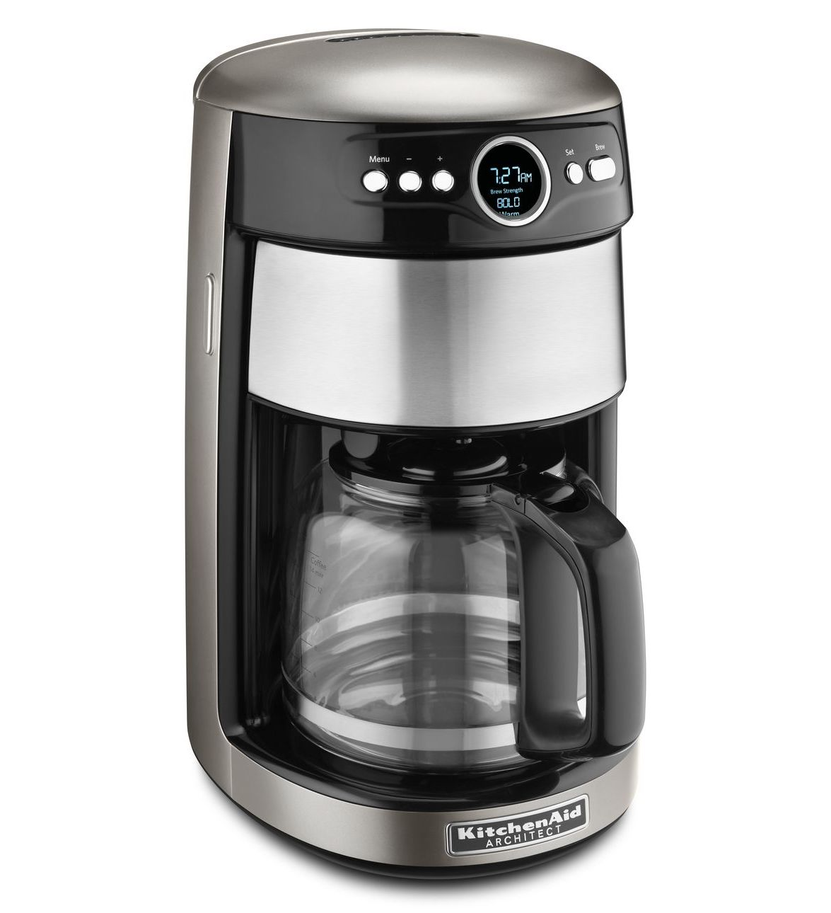 Kitchenaid 14 Cup Glass Carafe Coffee Maker Kcm1402acs