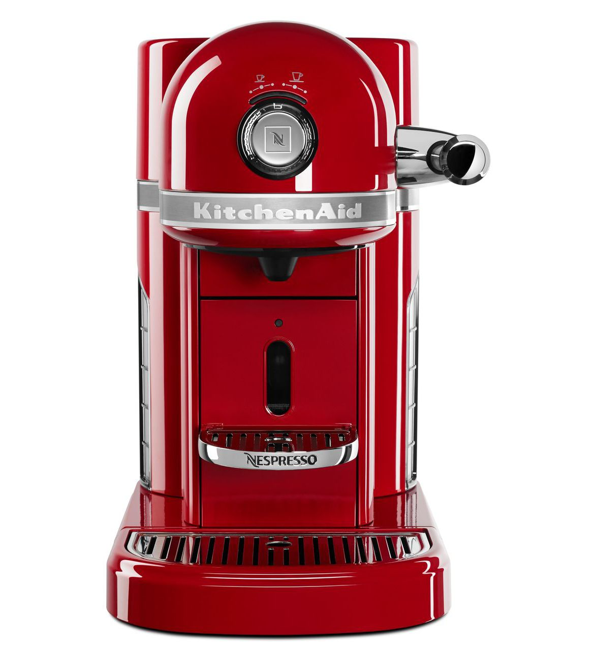 Kitchenaid KES0503ER Nespresso, Empire Red | eBay on kitchenaid waffle maker red, kitchenaid utensils red, kitchenaid chopper in red, kitchenaid candy apple red,