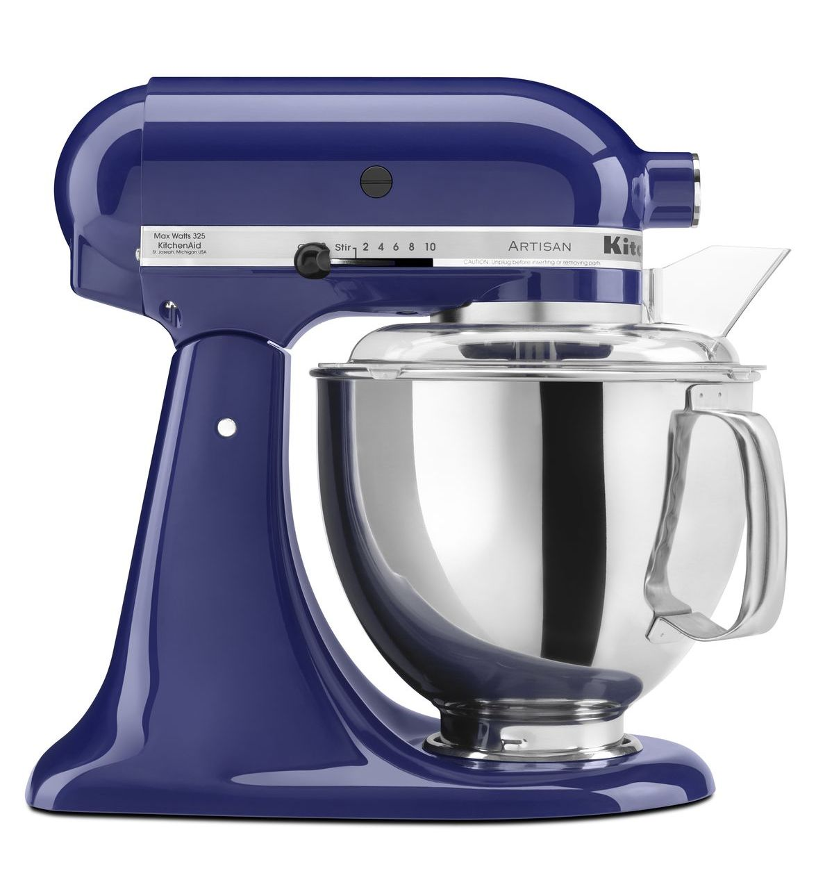 KitchenAid® Refurbished Artisan® Series 5 Quart Tilt-Head Stand Mixer, RRK150 Cobalt Blue