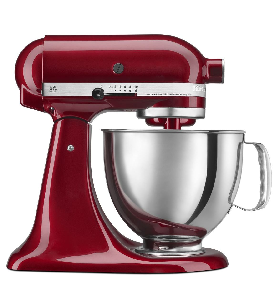 KitchenAid® Refurbished Artisan® Series 5 Quart Tilt-Head Stand Mixer, RRK150 Grenadine