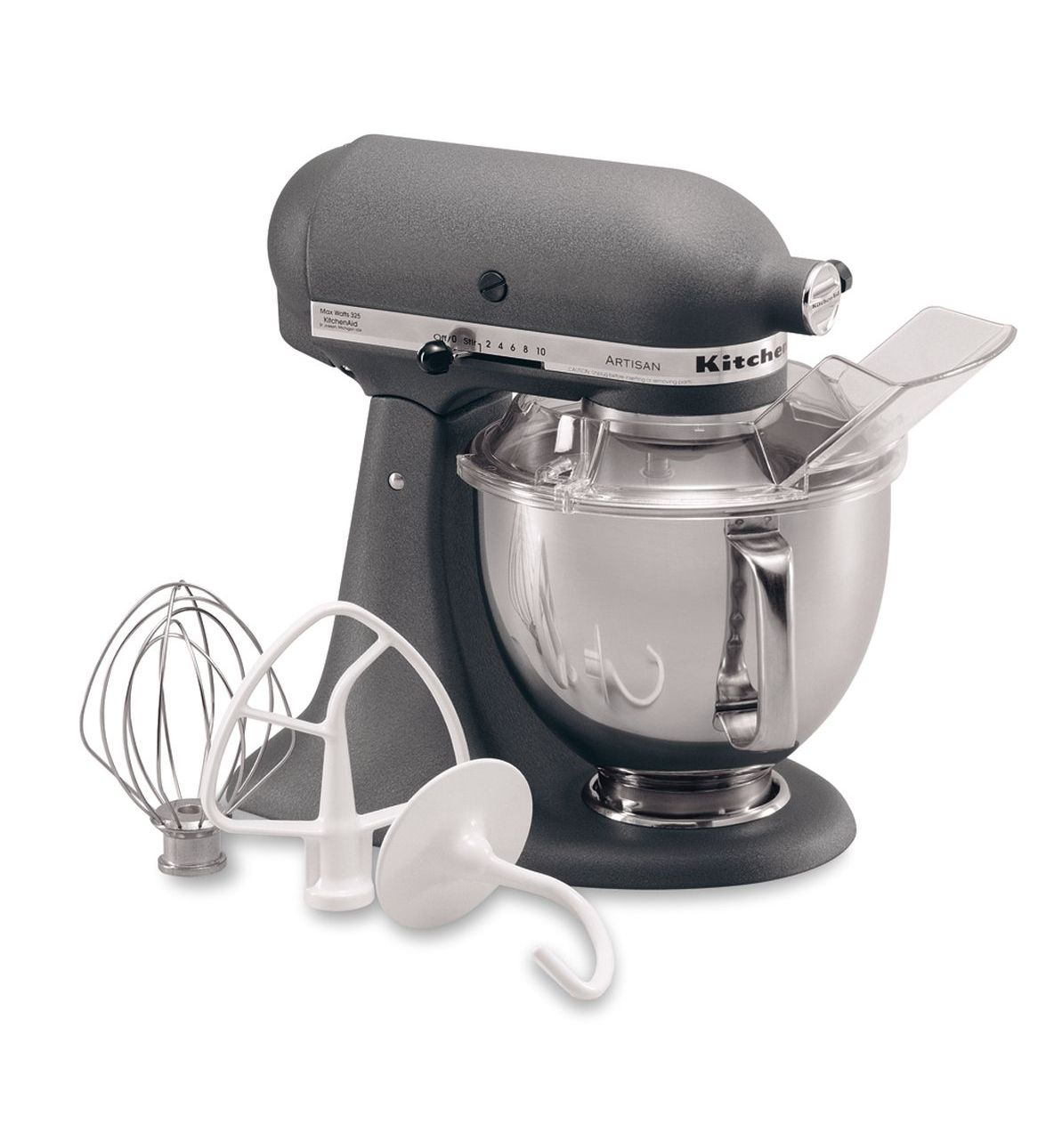 KitchenAid® Refurbished Artisan® Series 5 Quart Tilt-Head Stand Mixer, RRK150 Grey