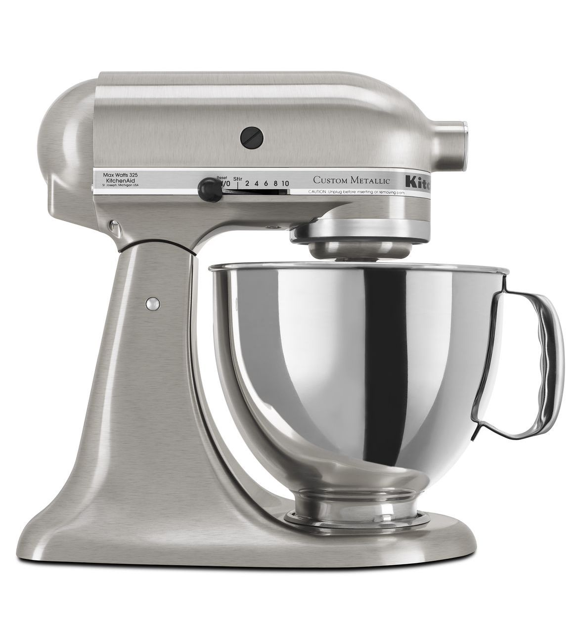 KitchenAid® Refurbished Artisan® Series 5 Quart Tilt-Head Stand Mixer, RRK150 Brushed Nickel