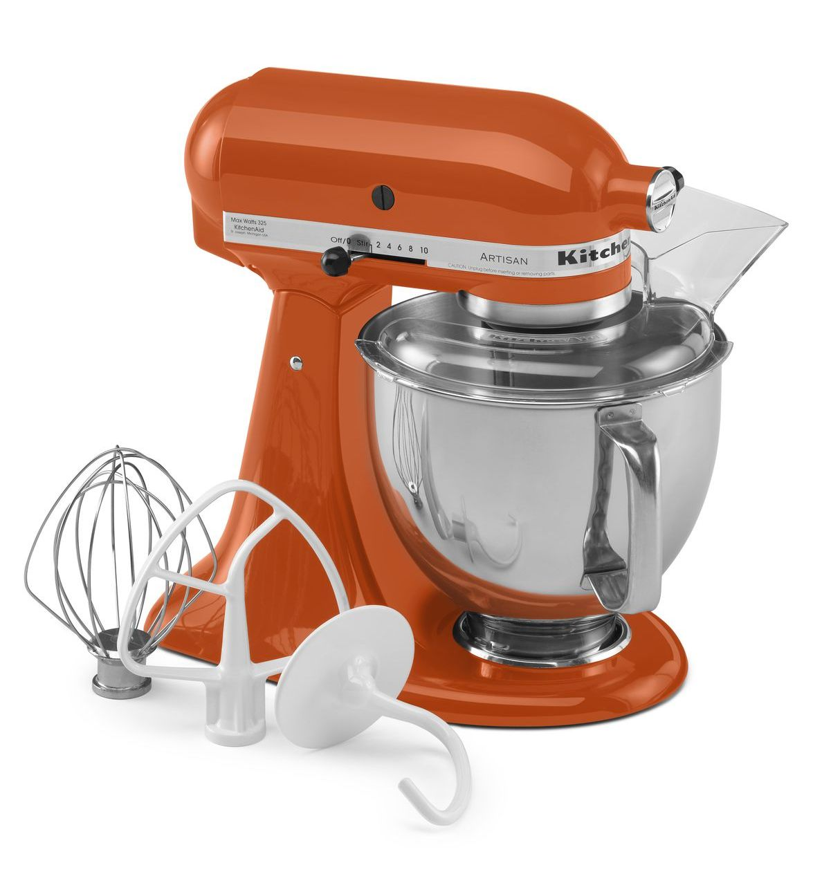 KitchenAid® Refurbished Artisan® Series 5 Quart Tilt-Head Stand Mixer, RRK150 Persimmon