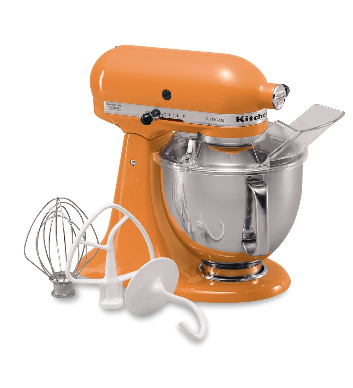 KitchenAid® Refurbished Artisan® Series 5 Quart Tilt-Head Stand Mixer, RRK150 Tangerine
